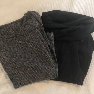 Set of two LuluLemon long sleeved shirts